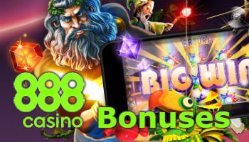 Bonuses for new and regular players at 888casino