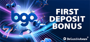 Generous welcome bonus offer at BGO Casino