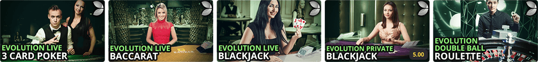 You can play live dealer games at Royal Vegas casino